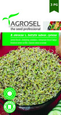 Broccoli seeds for sprouting, 8 gr