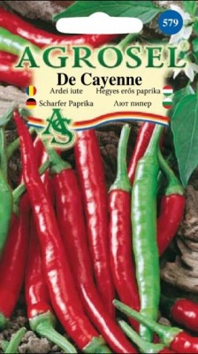 Cayenne Pepper, 0,75 g seeds
